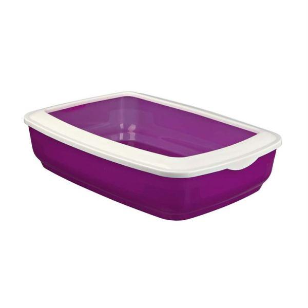 """Туалет для кошек с бортиком """"Mio"""" Trixie (цвета в ассортименте) 32 x 12 x 43 см."""
