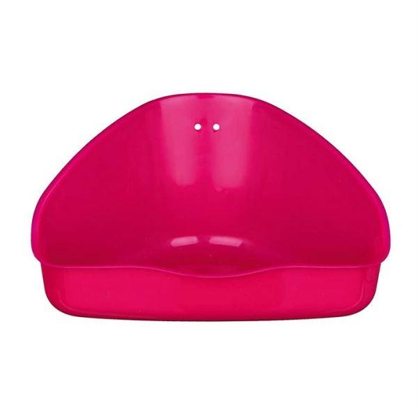 Туалет угловой для грызунов Trixie (цвета в ассортименте) 36 x 21 x 30/30 см.
