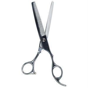 Ножницы филировочные для профессиональной стрижки собак и кошек Professional Trixie сталь 18 см.