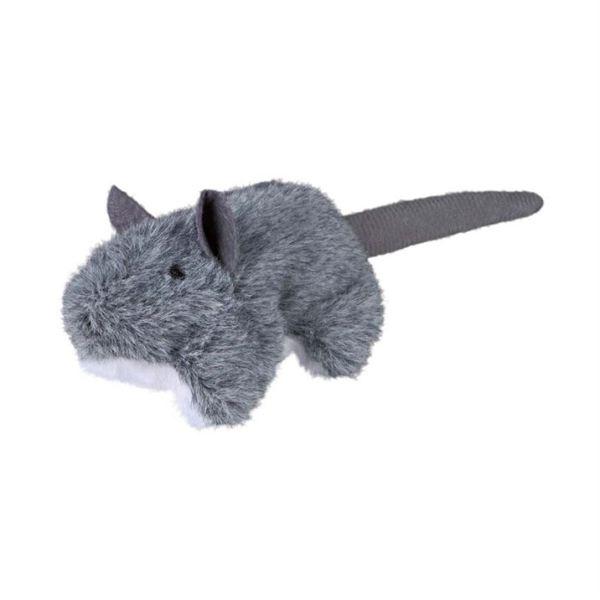 Игрушка для кошек Мышка с кошачьей мятой Trixie плюш 8 см.