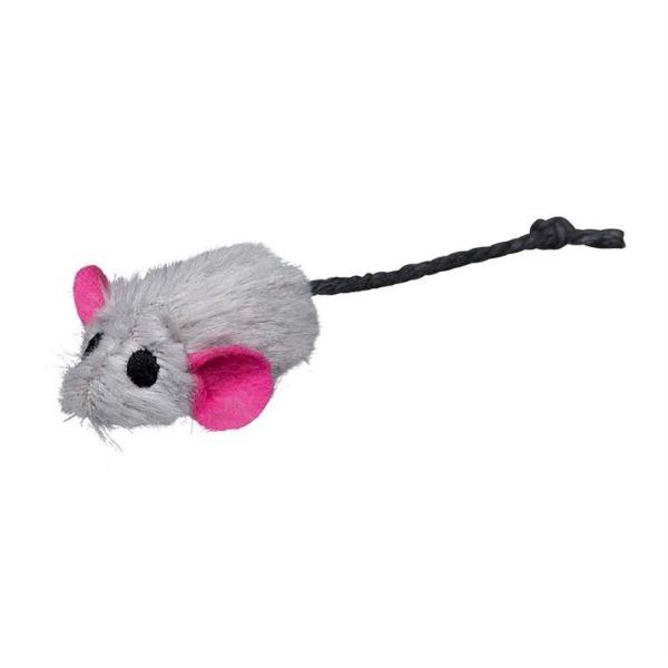Игрушка для кошек - Набор мышей с мятой Trixie плюш 5 см. (6 шт.)