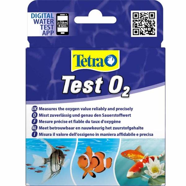 Капельный тест для воды на кислород в аквариуме Tetra Test O2