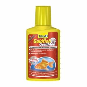 Средство для борьбы с болезнями кожи у золотых рыбок Tetra Goldfish GoldMed 100 мл.