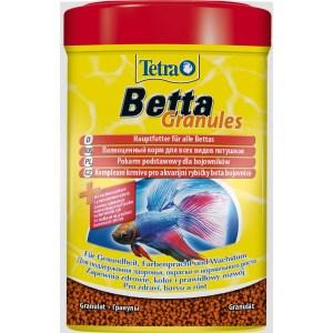 Сухой корм для аквариумных рыб в гранулах Tetra Betta Granules (для петушков) 5 гр.