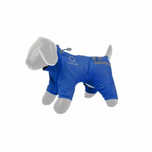 Дождевик для собак Collar ТМ Теремок (синий, для всех пород)