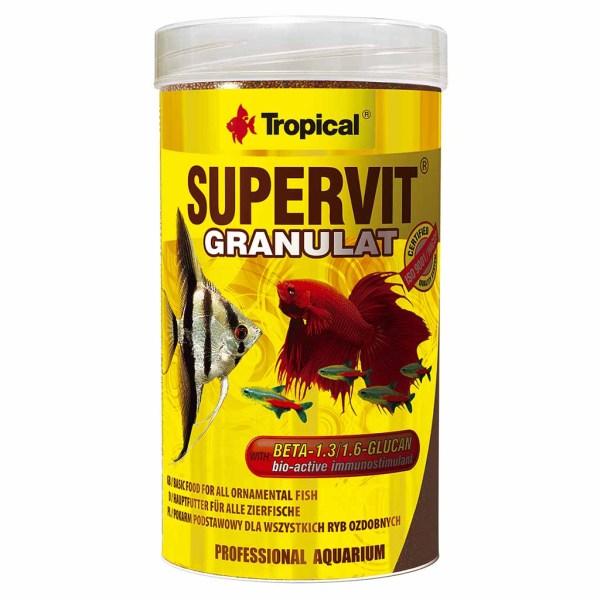 Сухой корм для аквариумных рыб в гранулах Tropical SuperVit Granulat (для всех видов рыб)