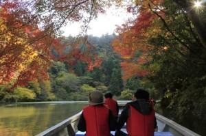 紅葉-07亀山湖