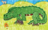 Kids Art Alligators_Alex