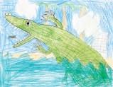 Kids Art Alligators_Charlie