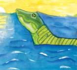 Kids Art Alligators_Eiffel