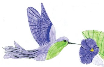 Kids Art HBirds_Alessia
