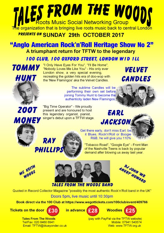 ANGLO-AMERICAN ROCK 'N' ROLL HERITAGE SHOW NO. 2