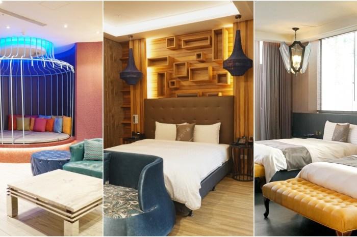 台中旅館:樂活行館-多種寬敞舒適房型、歡樂KTV派對房、超狂滑水道在等你!