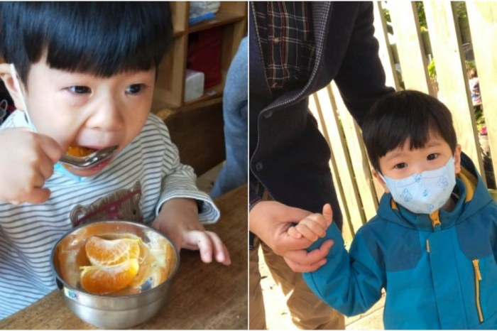 【阿福的幼兒園生活】孩子第一天去幼兒園・面對分離焦慮的方法分享。