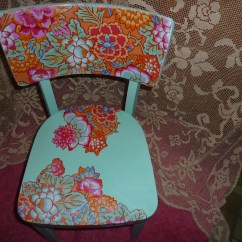 Funky Wooden Chairs Foldable Camping Decoupage Chair Makes Me Smile Zora Joy S