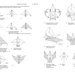 Origami Angel Step By Diagram List Of Dumbbell Exercises Diagrams Fish Tutorial Handmade