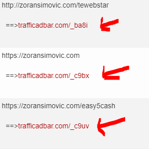 trafficadbarcloakedlinks