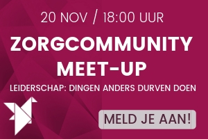 Meet-up leiderschap in de zorg