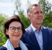 Gerrit Jan Vos en Anneke Asberg, Raad van Bestuur Marente