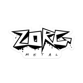 Zorg Metal Vinyl Sticker