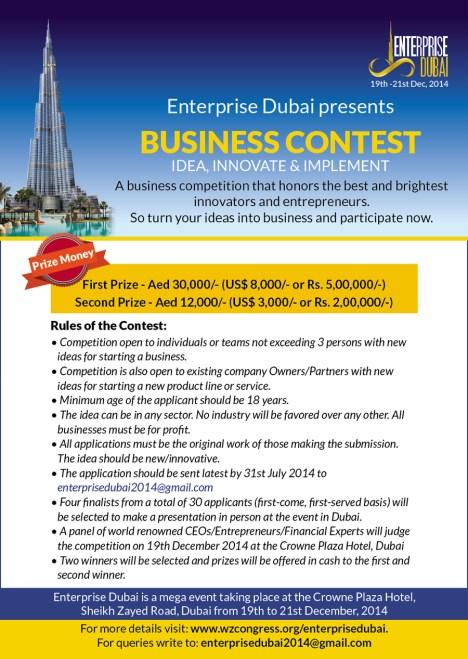 Enterprise Dubai Business Contest
