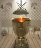 Zoroastrisk eld - The Everlasting Flame SOAS - Foto Ashk Dahlén