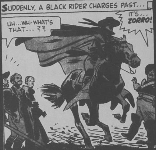 Black rider charges in Toth