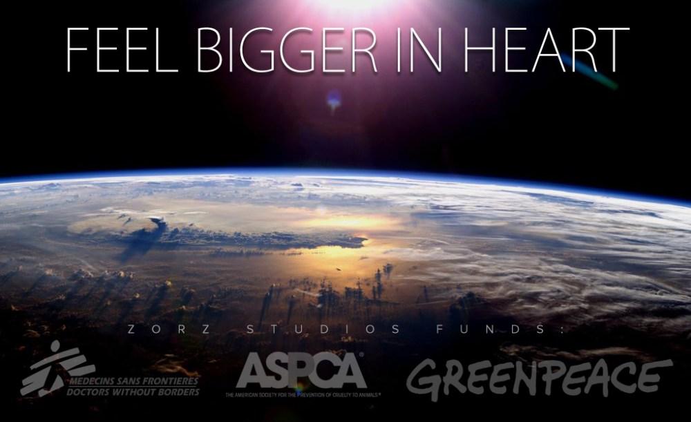 Feel Bigger in Heart | Zorz Studios
