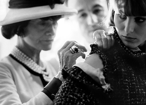 """Coco Chanel – Paris 1962″ by Douglas Kirkland"
