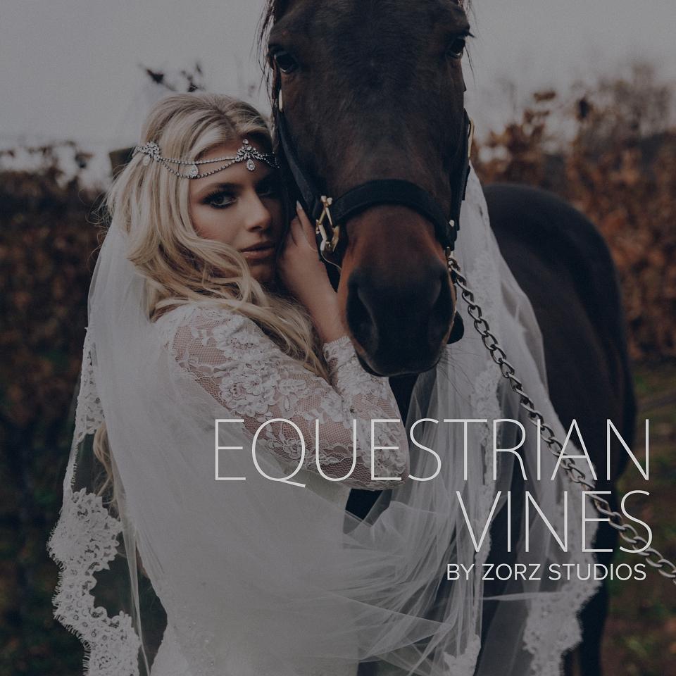 Equestrian Vines: Shannon + Al = Poetic Trash the Dress Session by Zorz Studios