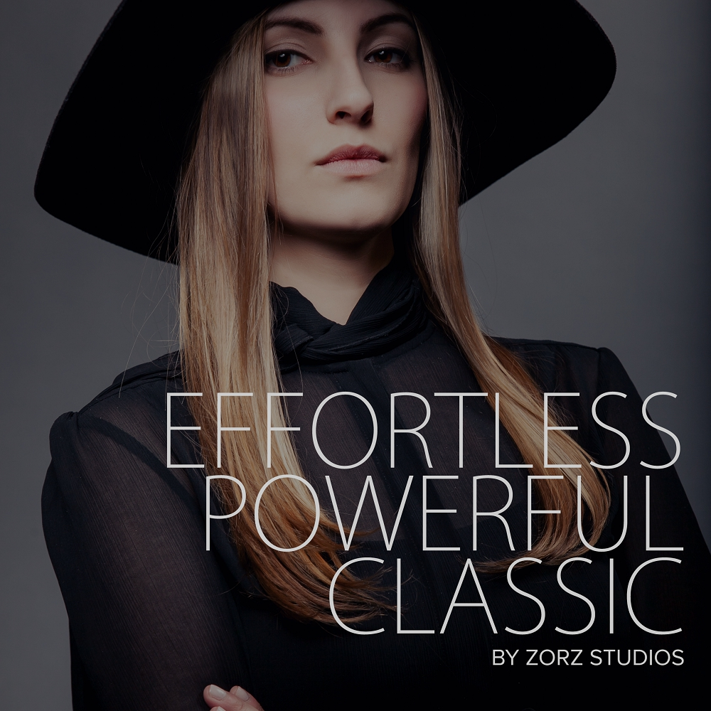 Effortless, Powerful, Classic: Beauty Portraiture