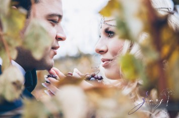 Equestrian Vines: Shannon + Al = Poetic Trash the Dress Session by Zorz Studios (15)