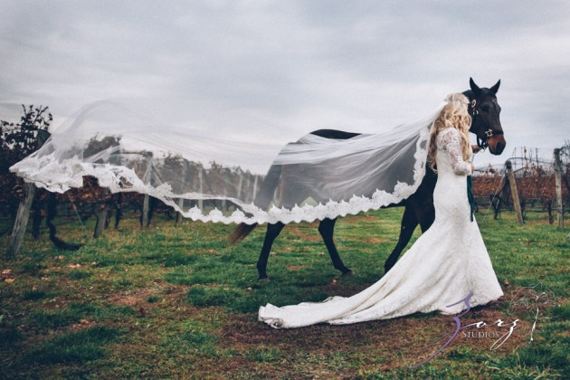 Equestrian Vines: Shannon + Al = Poetic Trash the Dress Session by Zorz Studios (6)