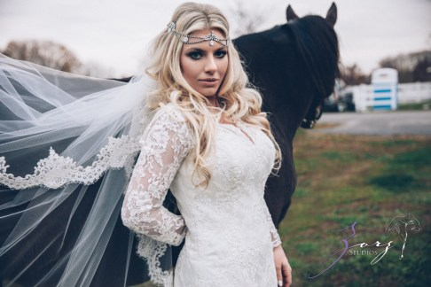 Equestrian Vines: Shannon + Al = Poetic Trash the Dress Session by Zorz Studios (5)