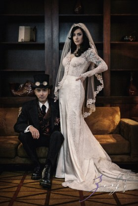 Annie + Chris = Steampunk Wedding by Zorz Studios (58)