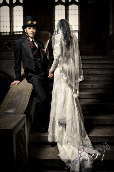 Annie + Chris = Steampunk Wedding by Zorz Studios (47)