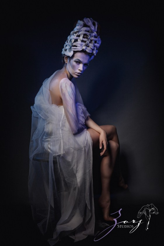 Snow Angel: Art Portraiture by Zorz Studios (4)