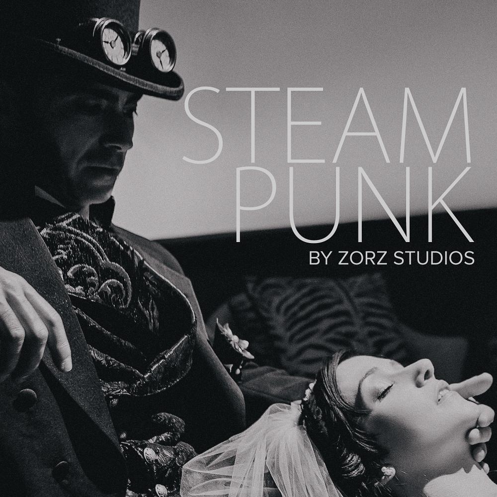 Annie + Chris = Steampunk Wedding by Zorz Studios (9)
