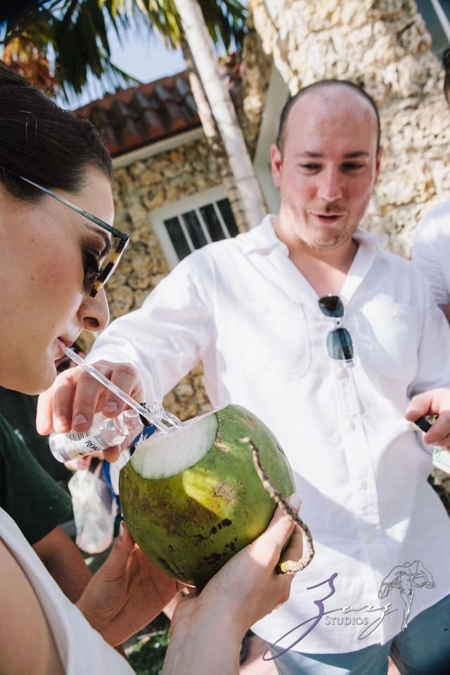 Going Coconuts: Olga + Paul = Destination Wedding and Surprise 2nd Celebration by Zorz Studios (76)