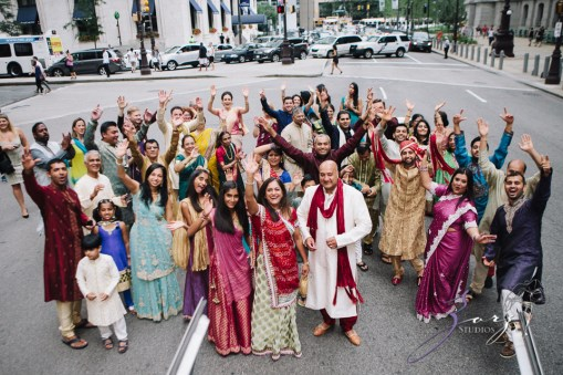 Phillyng in Love: Shruti + Milan = Indian Wedding by Zorz Studios (131)