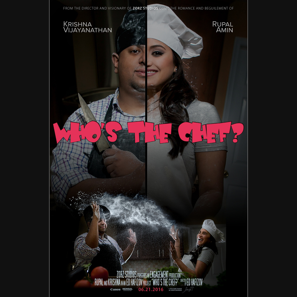 Who's The Chef? Rupal + Krishna = Food Fight Engagement