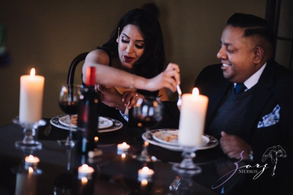 Who's The Chef? Rupal + Krishna = Food Fight Engagement Session by Zorz Studios (38)