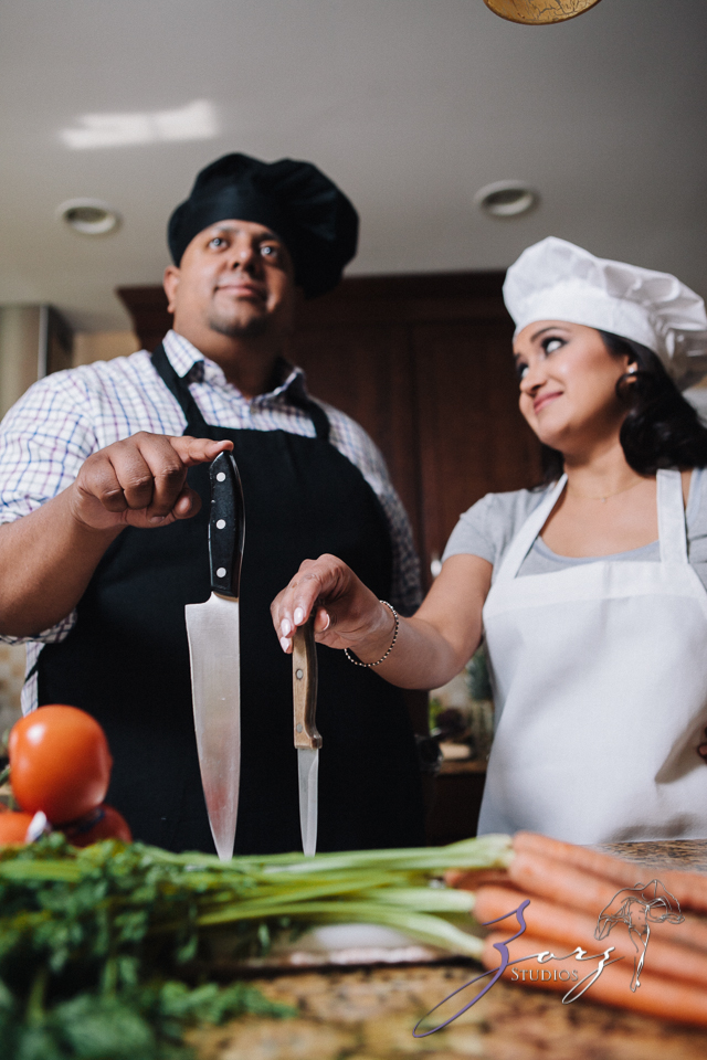 Who's The Chef? Rupal + Krishna = Food Fight Engagement Session by Zorz Studios (35)
