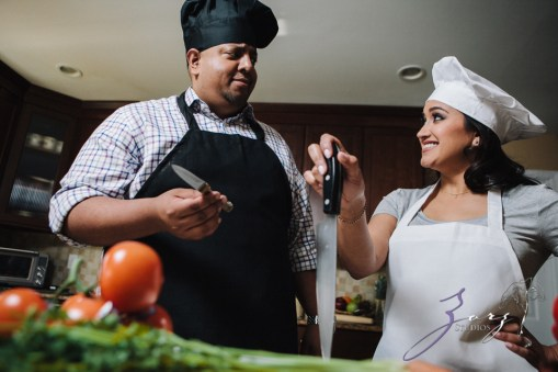 Who's The Chef? Rupal + Krishna = Food Fight Engagement Session by Zorz Studios (34)