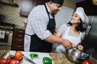 Who's The Chef? Rupal + Krishna = Food Fight Engagement Session by Zorz Studios (29)