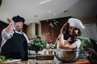 Who's The Chef? Rupal + Krishna = Food Fight Engagement Session by Zorz Studios (24)