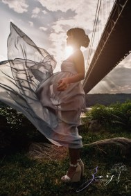 Cassis: Little Red Lighthouse Maternity Session by Zorz Studios (18)