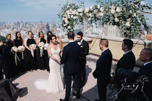 State of Mind: Leah + Joseph = Manhattan Rooftop Wedding (71)