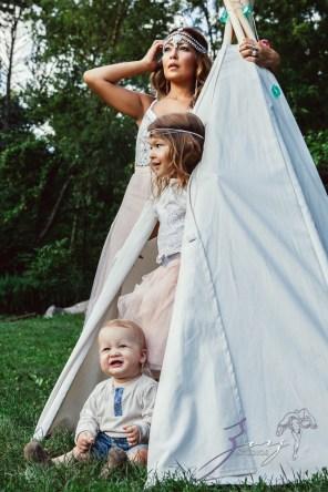 Teepee: Bohemian Family Photoshoot by Zorz Studios (36)