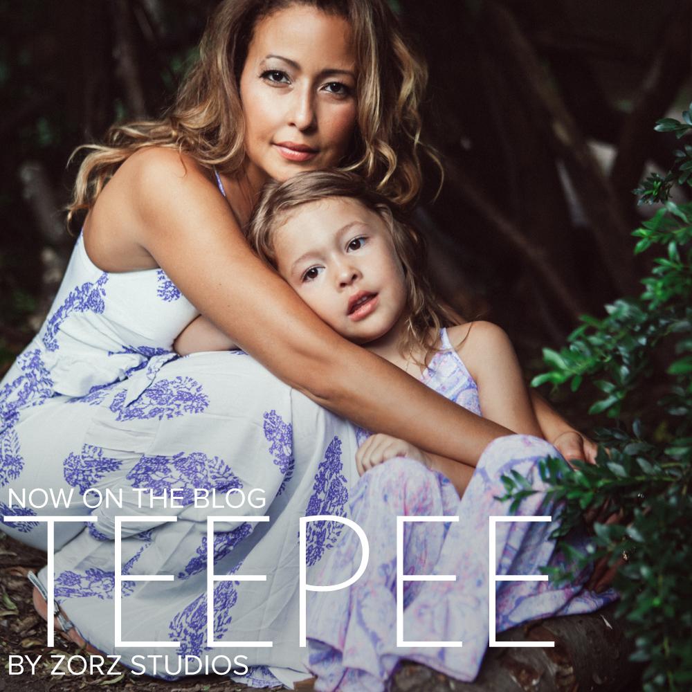 Teepee: Bohemian Family Photoshoot by Zorz Studios (2)